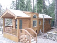 Single wide mobile homes free info for Log cabin single wide