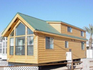 log cabin park model