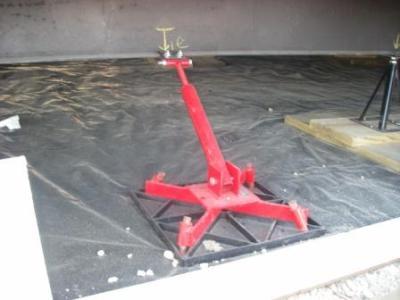 Mobile Home repair - earthquake bracing