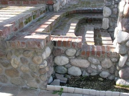 Brick can be used for your mobile home steps