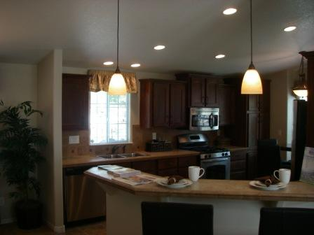 Kitchen on New Mobile Home Interior   What Are They Really Like On The Inside
