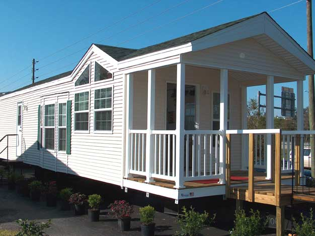 Small Cabin Manufactured Home