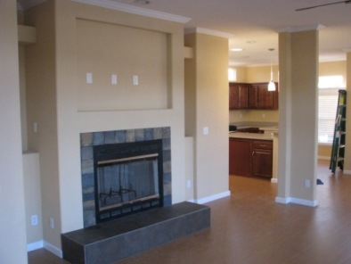 Mobile Home Fireplace