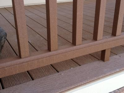 Composite deck material